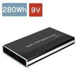 280Wh電池 / DC9V出力 リチウムイオン電源 09VC280型