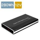 280Wh電池 / DC12V出力 リチウムイオン電源 12VC280型