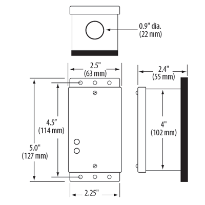 Veris COセンサー GWMXS型